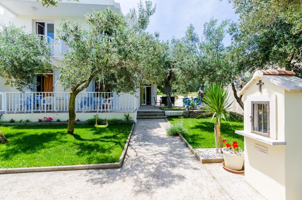 Apartment (10+6) Drače, Janjina, Kroatien